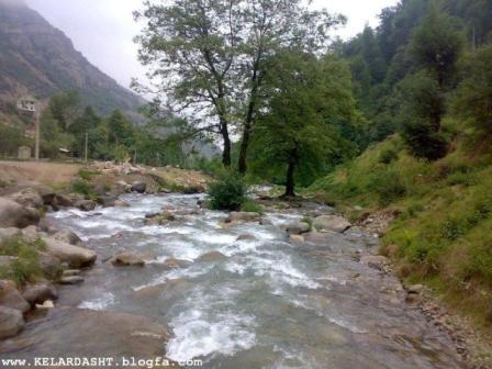 رودخانه سردآبرود در کلاردشت
